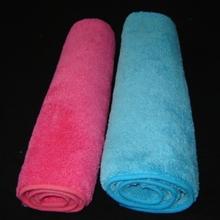 Dual pile microfiber cloth