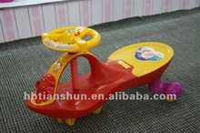Salable children wiggle ride-on car new concept slide car toys--factory