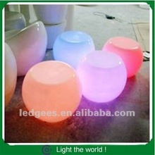 led furniture/indoor/outdoor use led chair