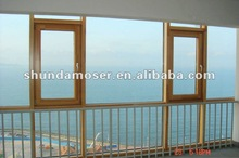 MOSER German style tilt and turn wood window two way opening-casement and tilt & turn