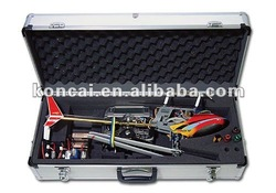 aircraft aluminum metal case, RC 450 Helicopter Case with Full Sets of Die-cut High-Density foam