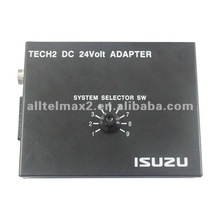 2012 latest TECH2 DC 24Volt ISUZU Adapter