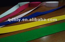 colorful woven elastic strap