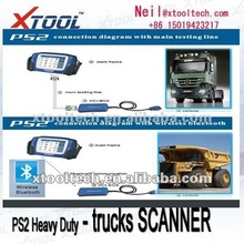 KengLong bus scanner & PS2 HEAVY DUTY universal truck diagnostic tool & Wireless bluetooth