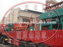 2012 Wangda logo New firing clay brick making machine all types