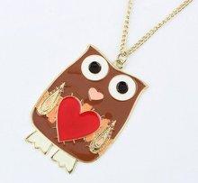 owl jewelry pendant necklace design