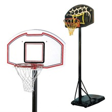 Portable adjustable PE basketball stand/hoops/system
