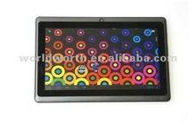 2012 allwinner a13 arm cortex-a8 tablet pc M7012