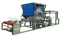 Hotizontal net belt laminating machine for shoe material making