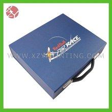 Tool case cardboard box handle