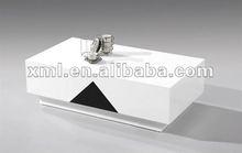 square white glossy coffee table design XML8161