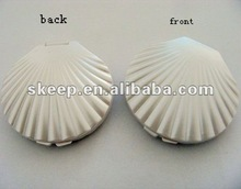 2012 hot selling promotion cheap hot sale shell mirrors for promotion gifts