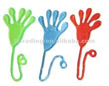 2012 new toys sticky hand toy