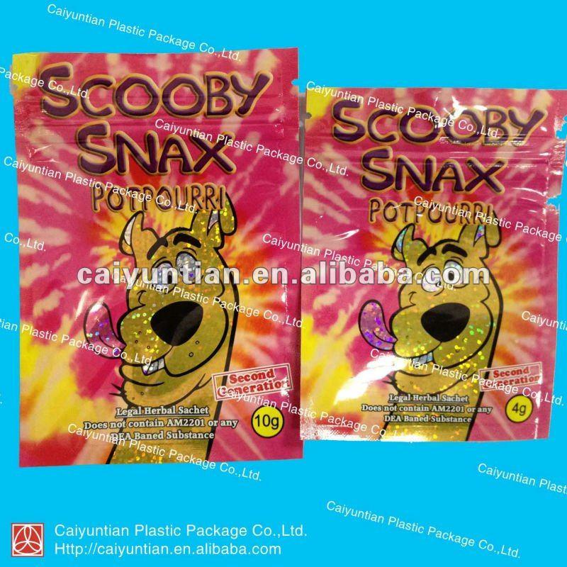 scooby snax bag 4g 10g 15g