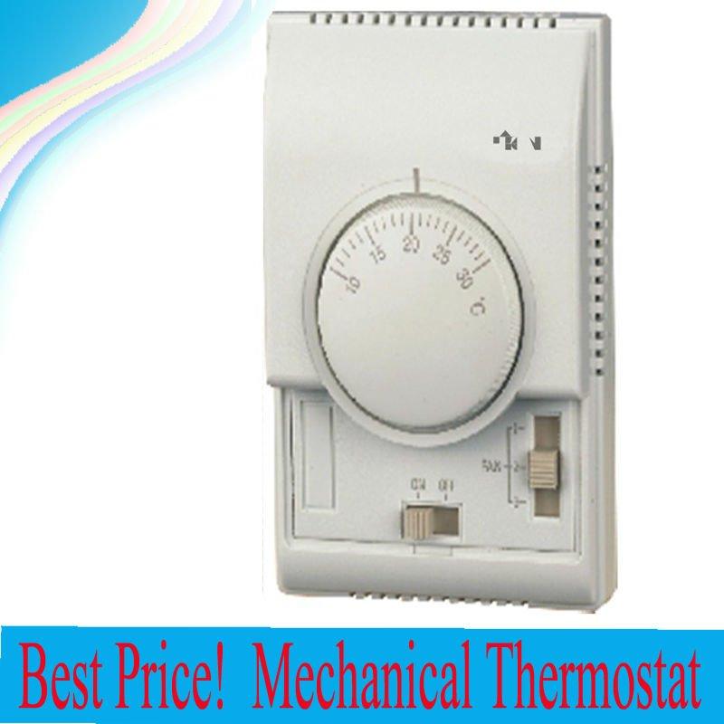 Ajustable termostato mecánico