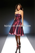 Factory Direct Evening Dress Fashionable Style Short Evening Dress (the olympic sport meeting)