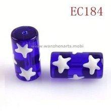 american flag bracelet glass bead