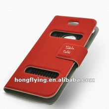 2012 Fashion Flip Dot Holder Stand PU Leather case for Samsung Galaxy S3 i9300
