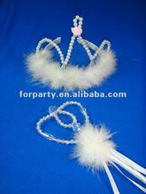 CG-CR046 Tiara and wand set hotsale tiara set