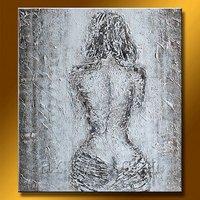 Hot Sell Handmade Nude Lady Oil Paintings