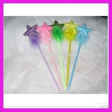 fashion cute star ballpoint feather quill pen