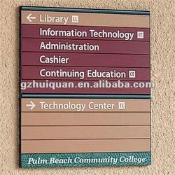 aluminum frame sign board for advertising equipment