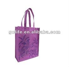 2012 New Style Portable nonwoven tote shopping bags,2012 Black Non-woven Handbags,Printed Non Woven Shopping Bags