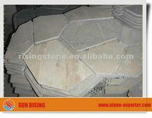 RS1961 Flagstone paver slate tumbled stone