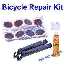 Bike Tire Repair Rubber Patches Kit Bike Repair Tools Kit