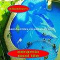 De cerámica azulejo de la piscina, 30x45,60x90,50x50,80x80,60x60cm ) estimados clientes, estamos muy profesional en la producción para el azulejo de la pared& piso