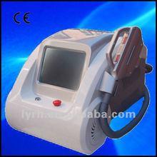 Desktop eraser hair remover e-light+bipolar rf ipl photofacial machine