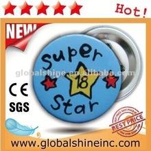 children use pin badge