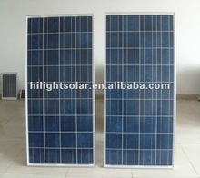 price per watt 150W poly solar panel with TUV/CE certificates