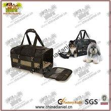 Roll up design plastic pet carrier
