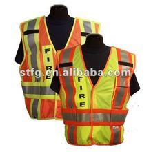 Break Away Adjustable Mesh Incident Command Reflective Safety Vest T-V53