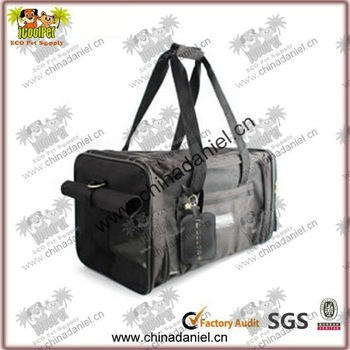 2012 New black plastic dog carriers