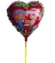 """18"""" hot heart shape cartoon foil balloon/ 2012 new design foil balloon"""