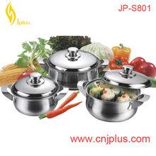 JPS-801 New Model Soup Cooking Pot With Pour Spouts And Lid