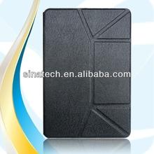 Book Flip water transfer printing pc case for ipad mini