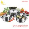 JPS-801 Best Price New Kitchenware Stainless Steel Cooking Steam Pot
