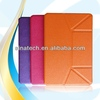 Manufacture sun flower pu leather for apple ipad mini 1/2