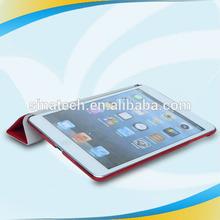 China wholesale manufacturer for ipad mini tan leather wallet smart flip case