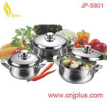 JPS-801 User Friendly Aluminium Porcelain Camping Cookware