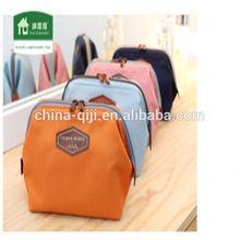2014 fashional new style hot sale Clutch Handbag natural cosmetic bag
