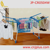 JP-CR0504W Excellent Decorated Satin Padded Hangers For Clothes