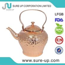 High LuxuriousHigh Grade Stainless Steel 1.5l double wall tea kettle/steel coffee pot/coffee warmer (OSUJ)