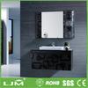Bespoke thailand oak bathroom designed cabinet