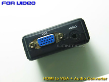 China Manufacturer vga to hdmi adapter cable with audio support