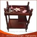 ahşap çivi güzellik Sepeti salon mobilyaları ahşap Motor yüz güzellik arabası
