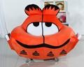 garfield flanela moda novos grandes formas de animais para crianças dos desenhos animados para adultos para se sentar sofá laranja
